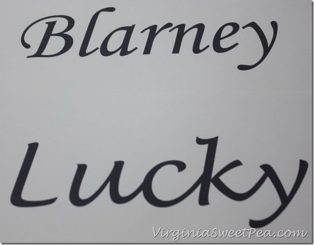 Blarney and Lucky