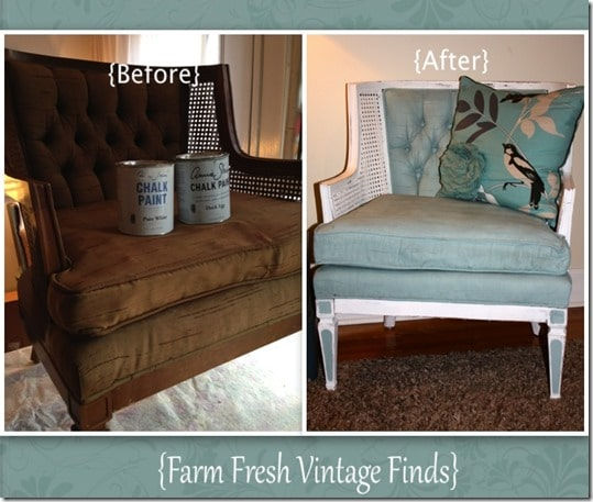 How to Paint Upholstery with Annie Sloan Chalk Paint