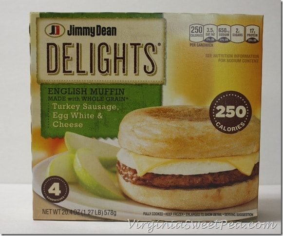 Jimmy Dean Delights English Muffin with Turkey Sausage