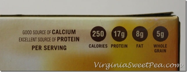 Jimmy Dean Delights Nutritional Facts2