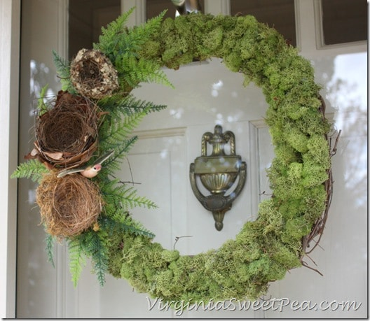 Moss and Nest Wreath