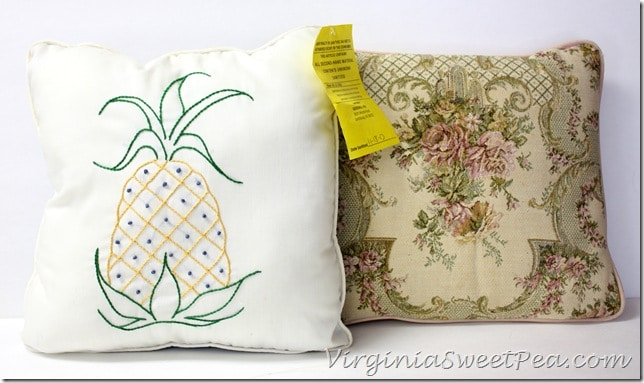 Pillows Before