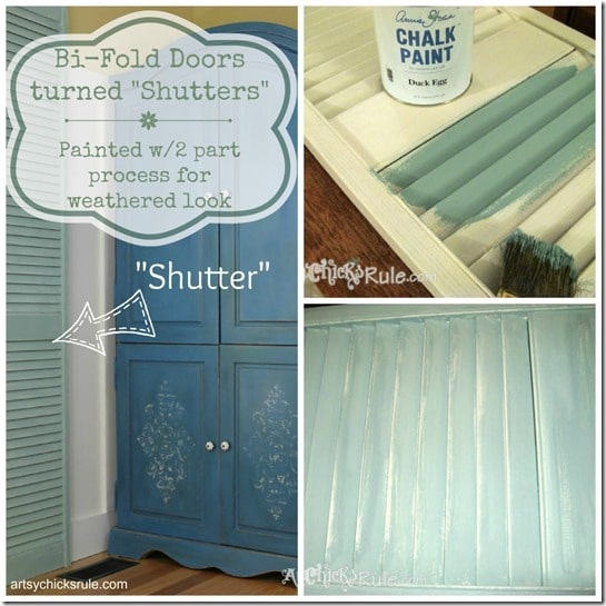 Repurposed-Bi-Fold-Door-turned-Shutter