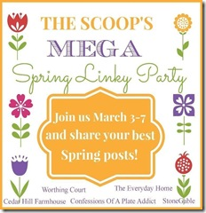 Scoop Mega Spring Linky Party