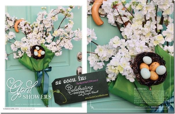 Celebrating Everyday Life with Jennifer Carroll March/April 2014