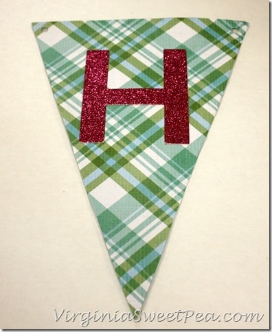 Cereal Box Pennant Instructions