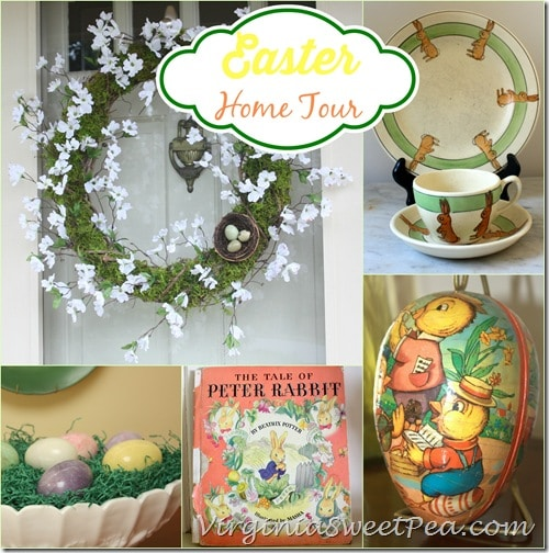 Easter Home Tour at virginiasweetpea.com