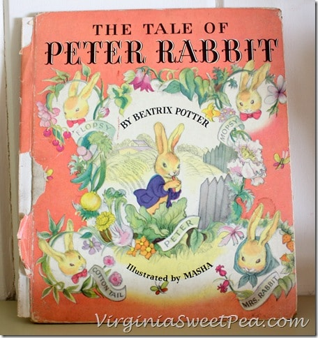 1942 The Tale of Peter Rabbit Book