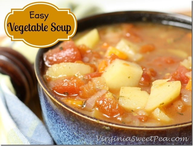 Easy Vegetable Soup by virginiasweetpea