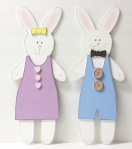 Painted Easter Bunnies