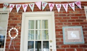 Easy Cereal Box Pennant