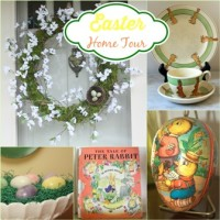 Easter Home Tour at virginiasweetpea