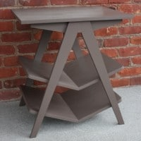 Plow and Hearth Knockoff Chevron End Table by virginiasweetpea.com