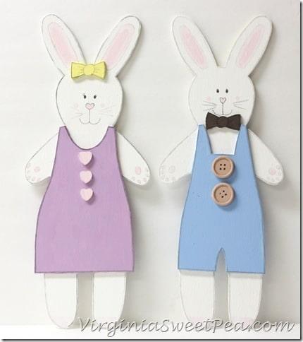 Handpainted Rabbits
