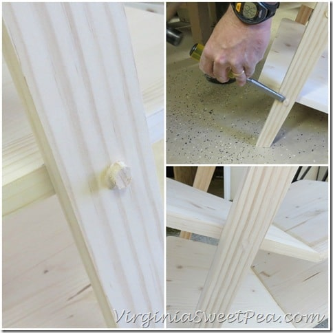 How to Cover Screws on Wood