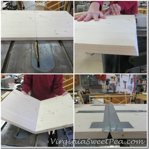 How to make the shelves for Plow and Hearth Table