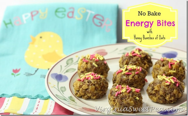 No Bake Energy Bites with Honey Bunches of Oats