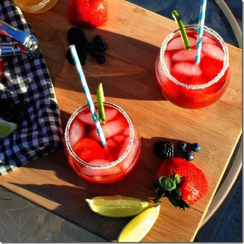 Triple Berry Tequila Limeade