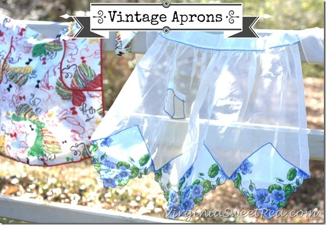 Vintage Aprons by virginiasweetpea.com