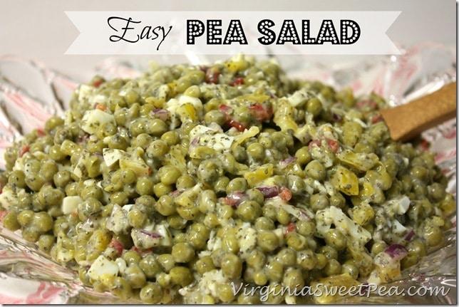 Easy Pea Salad by virginiasweetpea