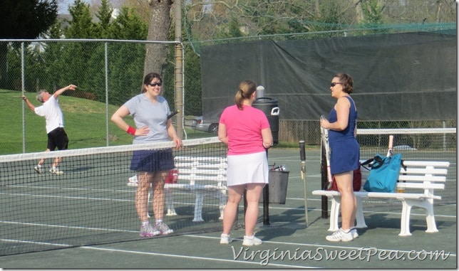 Tennis with Friends