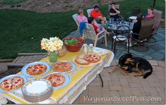 Tony's Pizza Party - Easy Entertaining