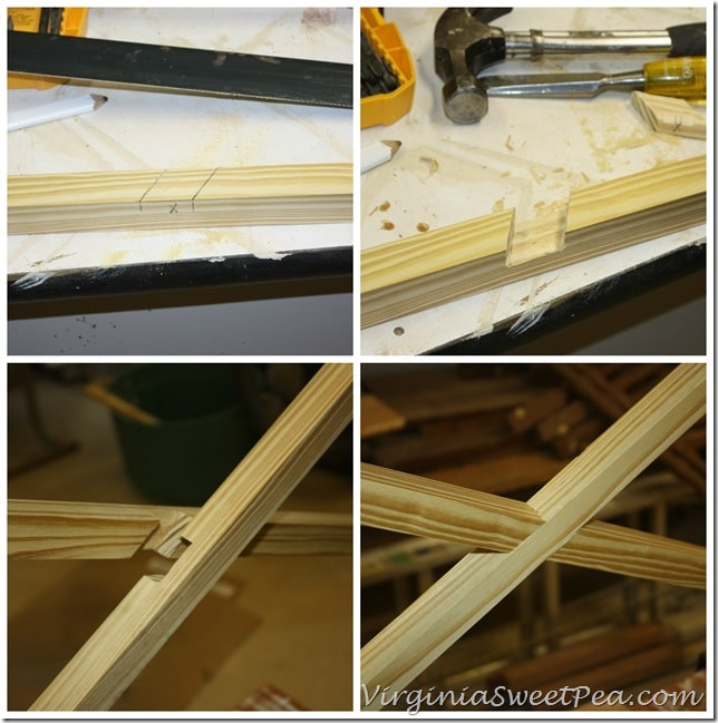 How to Make Chippendale Railings Cross Pieces