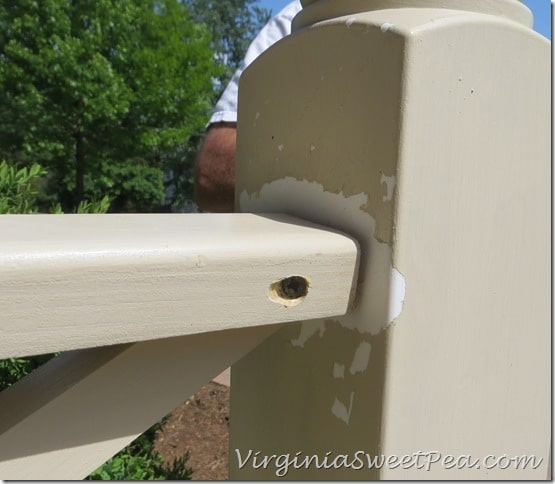 Attaching Chippendale Railings to Vinyl