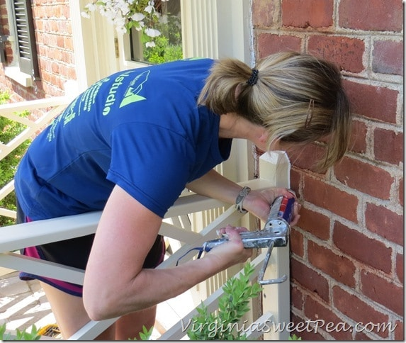 Caulking Chippendale Railings