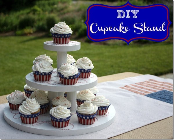 DIY Cupcake Stand by virginiasweetpea.com