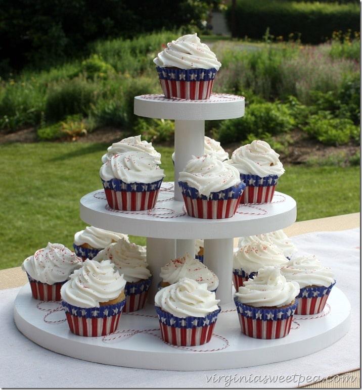 DIY Three Tiered Cupcake Holder2