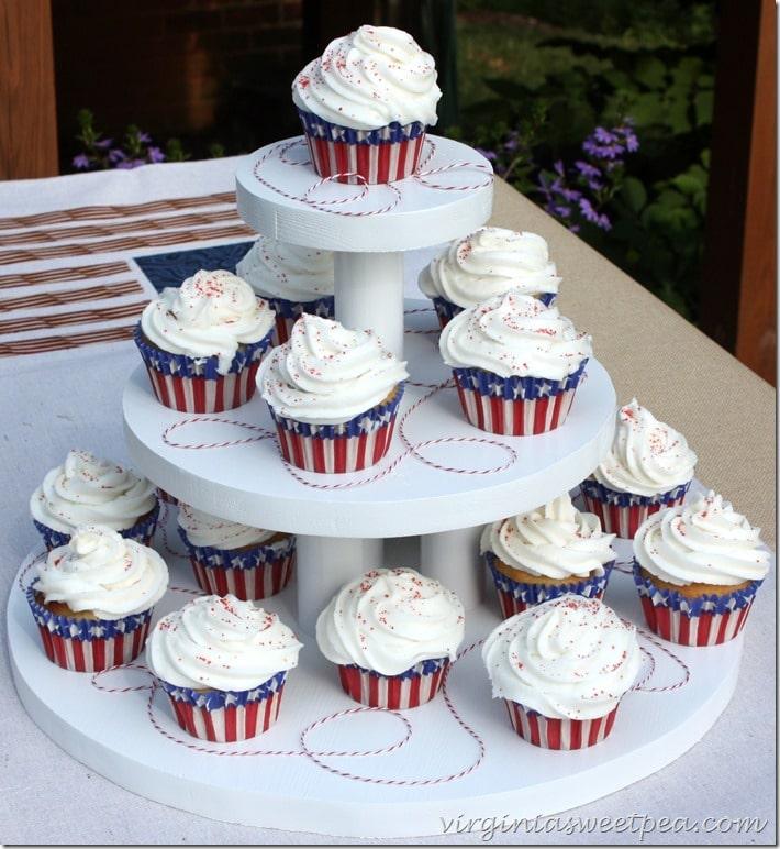 DIY Three Tiered Cupcake Holder