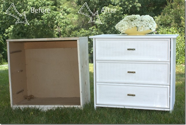 Dresser Before and After virginiasweetpea.com