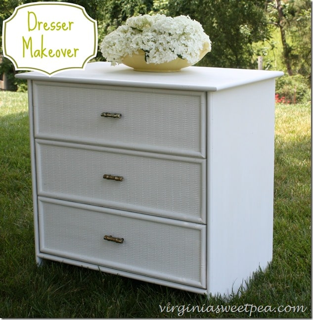 Dresser Makeover by virginiasweetpea.com