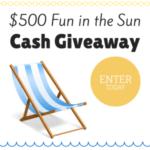 Fun in the Sun $500 Cash Giveaway