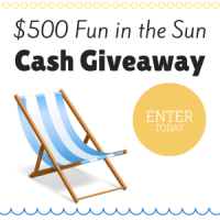 Fun in the Sun Cash Giveaway