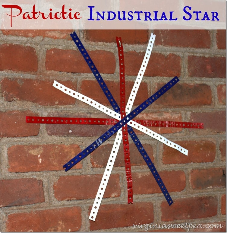 Patriotic Industrial Star by virginiasweetpea.com