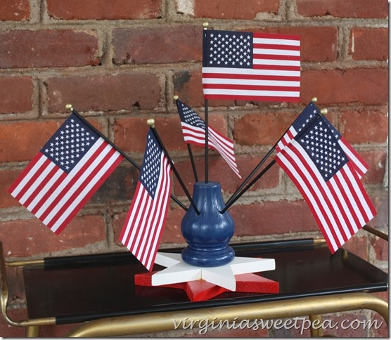 Star Flag Holder