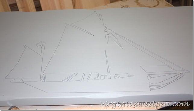 Transferred Boat Image