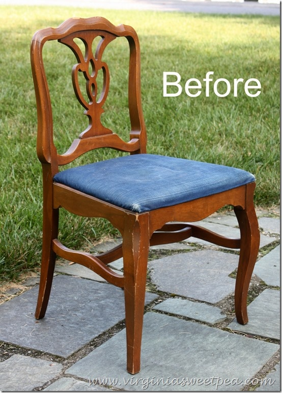 Chair Makeover - Before