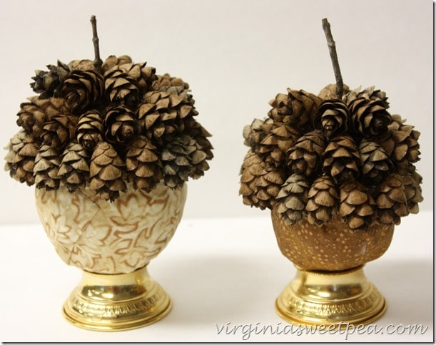 DIY Faux Acorns