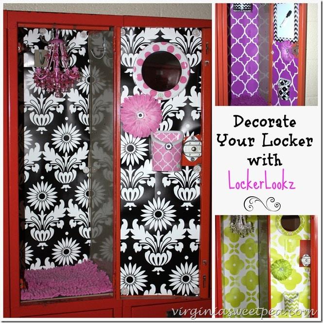 decorate your locker with lockerlookz - How To Decorate Your Locker