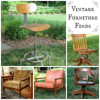 Vintage Furniture Finds by virginiasweetpea