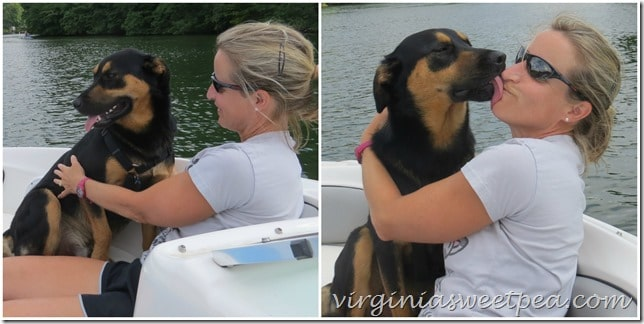 Sherman Skulina Love Boating at Smith Mountain Lake