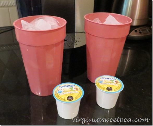 Snapple Brew Over Ice in a Keurig  #BrewOverIce #BrewItUp #shop