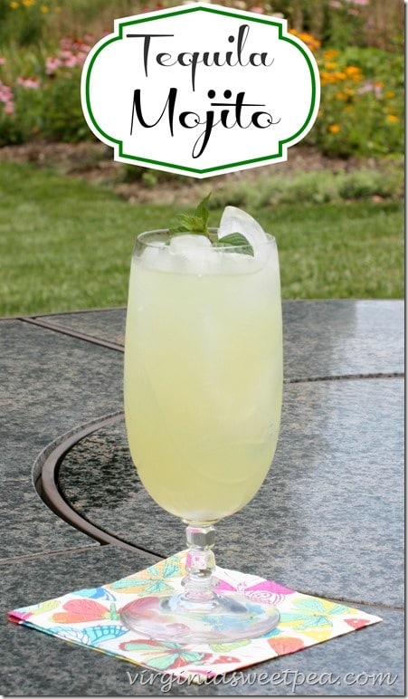 Tequila Mojito by virginiasweetpea.com