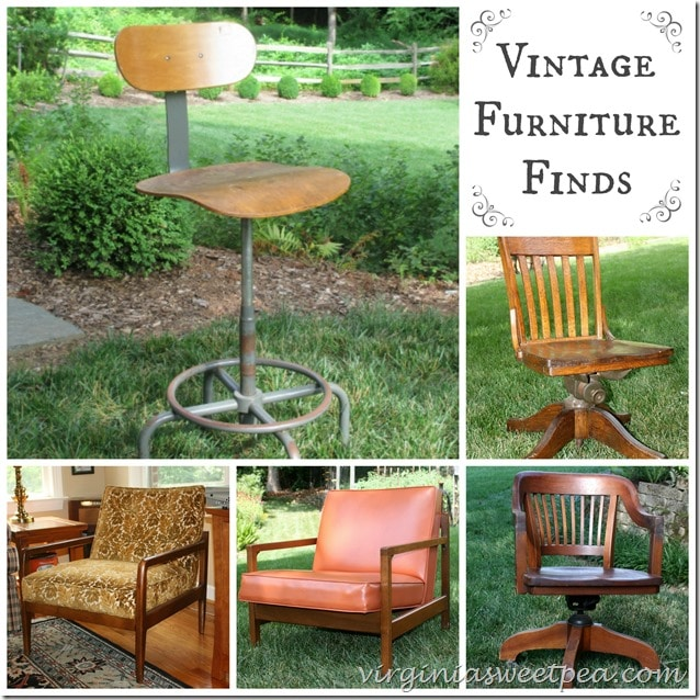 Vintage Furniture Finds by virginiasweetpea.com
