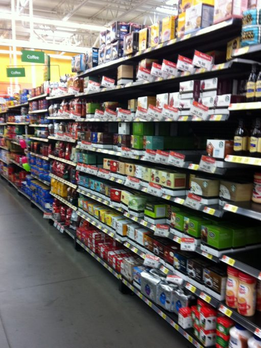 Walmart Selection of Keurig Teas