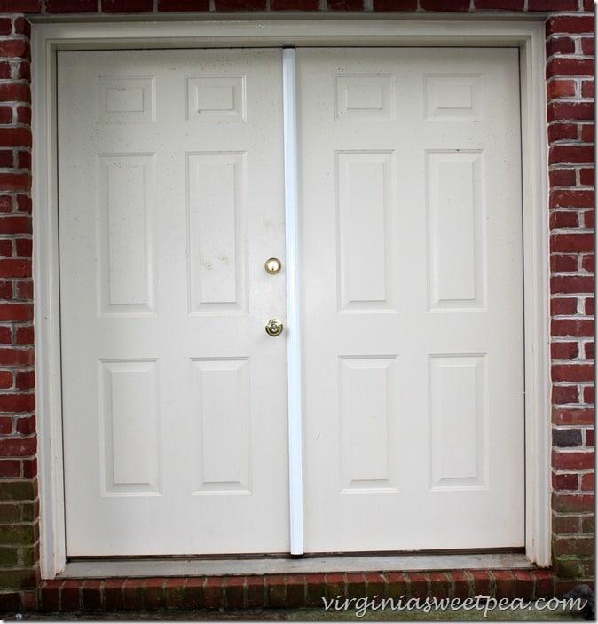 Basement Doors Both Sides Cleaned