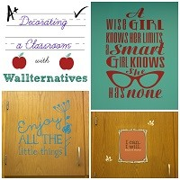 Decorating  Classroom with Wallternatives by virginiasweetpea